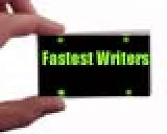 Fastest Writers