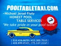 Pool Table Taxi